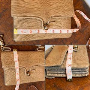 Vintage Bags - VTG Sacha French Genuine Lizard Skin Handbag